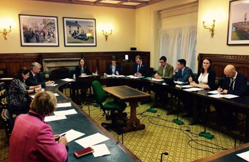 The first meeting of the APPG for Fruit and Vegetable Farming