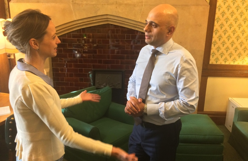 Lobbying Sajid Javid