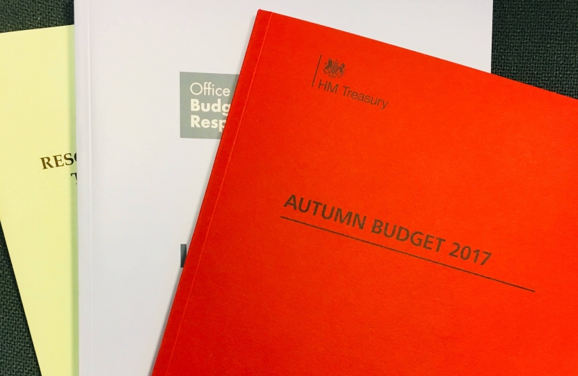 The Autumn Budget 2017
