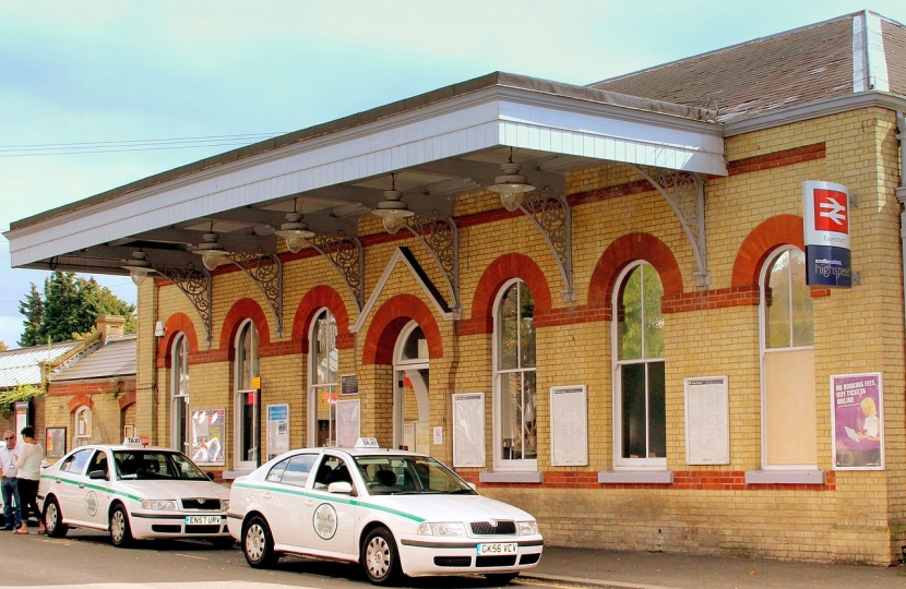The grade II listed station is full of potential