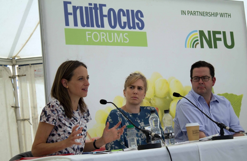 Helen at Fruit Focus 2019