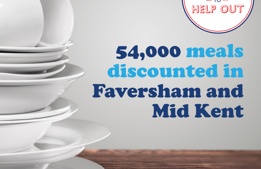 54,000 meals discounted in Faversham and Mid Kent