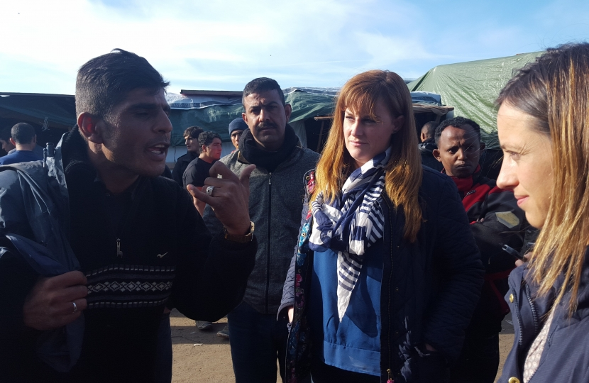 Visiting The Jungle in Calais