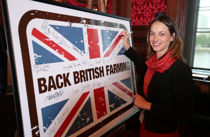 Helen pledges to Back British Farming