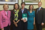 Baroness Byford, Helen Grant MP, Ali Capper, Chair of NFU Horticulture and Potatoes Group, Helen Whately MP, Matt Warman MP