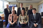 Helen Whately visits a school in her constituency of Faversham and Mid Kent