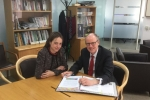 Helen Whately MP meets Schools Minister Nick Gibb MP to lobby him for two new schools for children in Maidstone