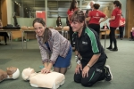 Learning CPR with St John Ambulance