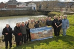 Helen with swing bridge campaigners