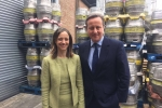 The Prime Minister and me at Shepherd Neame