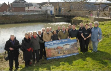 Campaigning for the swing bridge