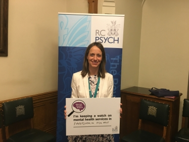 Helen supporting mental health services